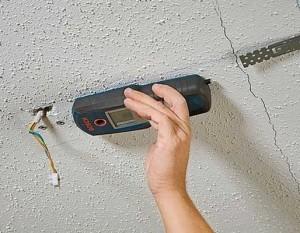wiring damaged