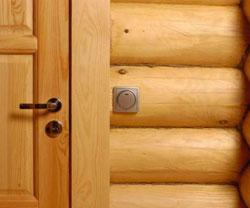 Безопасная электропроводка в деревянном доме