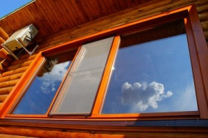 wooden double-glazed windows