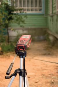 work with the laser rangefinder